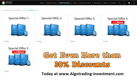 Algotrading-Investment Sales more than 30