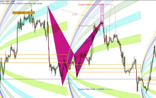 Harmonic Pattern-Harmonic Volatility Example