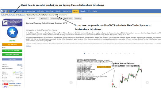 Guide to Buying MetaTrader 4 and MetaTrader 5 Products Figure 1